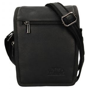 Pánská taška přes rameno Always Wild Vilden – černá 110750