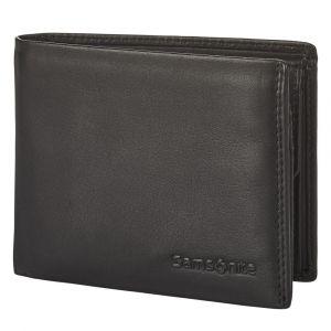 Samsonite Pánská kožená peněženka Attack 2 SLG 021 – černá p55173