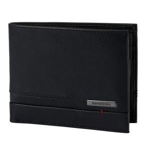 Samsonite Pánská kožená peněženka Pro-DLX 5 SLG 015 – černá p55421