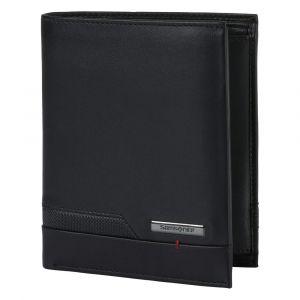 Samsonite Pánská kožená peněženka Pro-DLX 5 SLG 122 – černá p55427