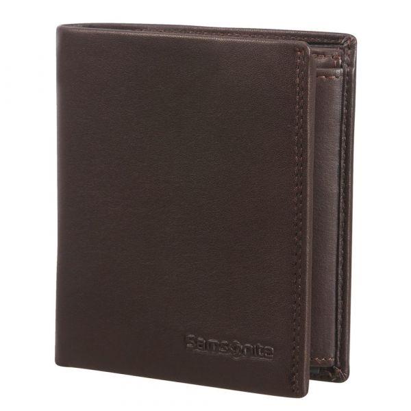 Samsonite Pánská kožená peněženka Attack 2 SLG 119 – tmavě hnědá p55431