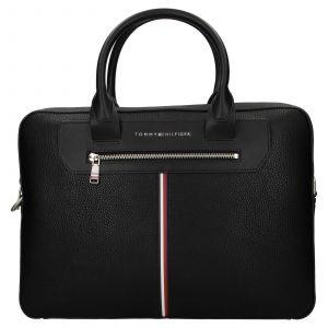 Pánská taška na notebook Tommy Hilfiger Dellon – černá 110831