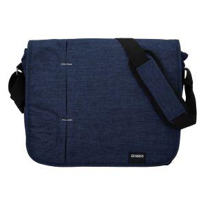 Kvalitní modrá nylonová brašna na notebook – Enrico Benetti Jason modrá 287602