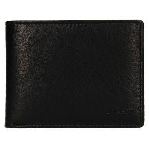 Pánská kožená peněženka Lagen Kryštof – černá 110855