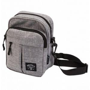 Meatfly Pánská taška přes rameno Hardy – šedá p55772