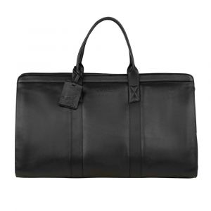 Kožená cestovní taška Burkely Weekender – černá 110867