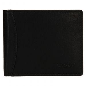 Pánská kožená peněženka Lagen Felixe – černá 110891