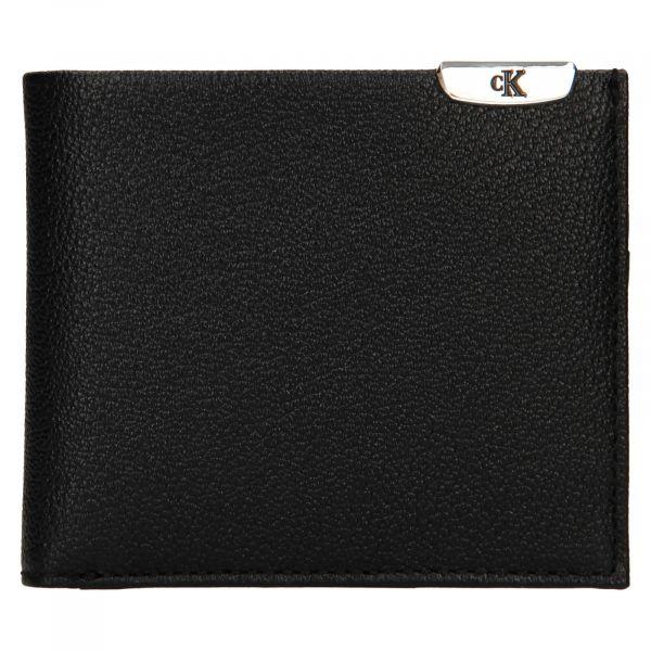 Pánská kožená peněženka Calvin Klein Dorn – černá 110911