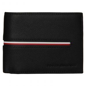Pánská kožená peněženka Tommy Hilfiger Bruno – černá 110924