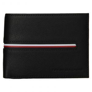 Pánská kožená peněženka Tommy Hilfiger Heinz – černá 110923