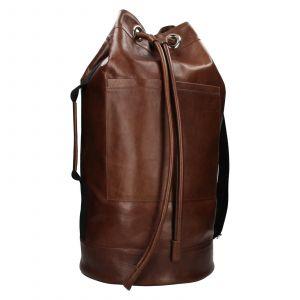 Kožený lodní vak facebag Bounty – koňak 110936