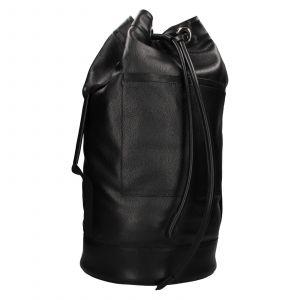 Kožený lodní vak facebag Bounty – černá 110935
