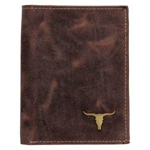 Pánská kožená peněženka Wild Buffalo Štěpán – hnědá 111001