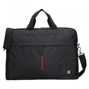 Pánská taška přes rameno Enrico Benetti Lopes – černá 13028