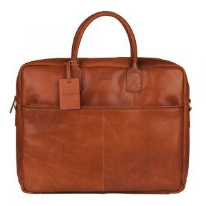 Pánská kožená taška na notebook Burkely Max – koňak 111009