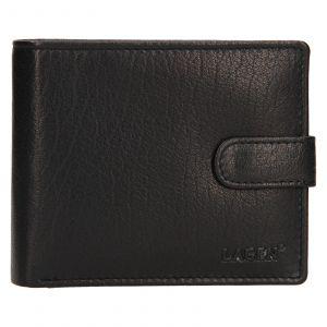 Pánská kožená peněženka Lagen Fredint – černá 111213
