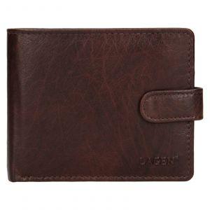 Pánská kožená peněženka Lagen Ivan – tmavě hnědá 111210