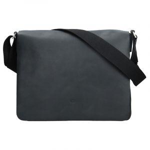Kožená pánská taška Daag SMASH 75 – černá 11255