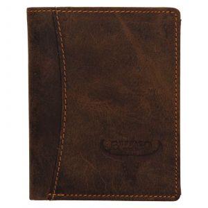 Pánská kožená peněženka Wild Buffalo Daniel – světle hnědá 111235