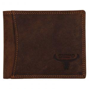 Pánská kožená peněženka Wild Buffalo Huberts – světle hnědá 111233