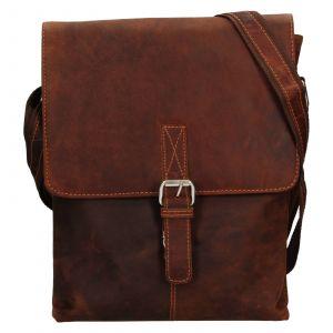 Pánská kožená taška přes rameno Greenwood Ashwn – hnědá 111304
