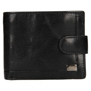 Pánská kožená peněženka Rovicky Oskar – černá 111286