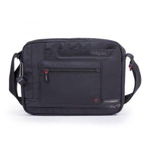 Hedgren Pánská taška přes rameno Extruded RFID – černá p46760