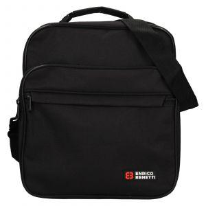 Pánská taška přes rameno Enrico Benetti Jonsen – černá 111536