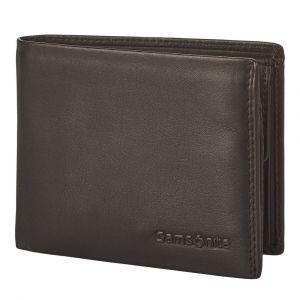 Samsonite Pánská kožená peněženka Attack 2 SLG 021 – tmavě hnědá p55172