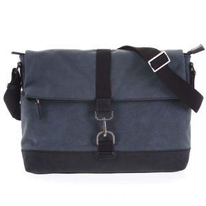 Pánská taška na notebook modrá – Hexagona Cladrien modrá 189140