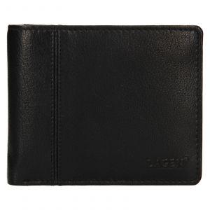 Pánská kožená peněženka Lagen Levi – černá 111560