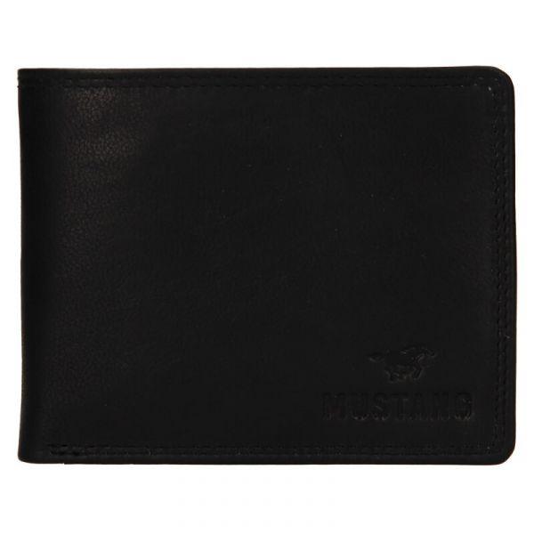 Pánská kožená peněženka Mustang Filip – černá 111631