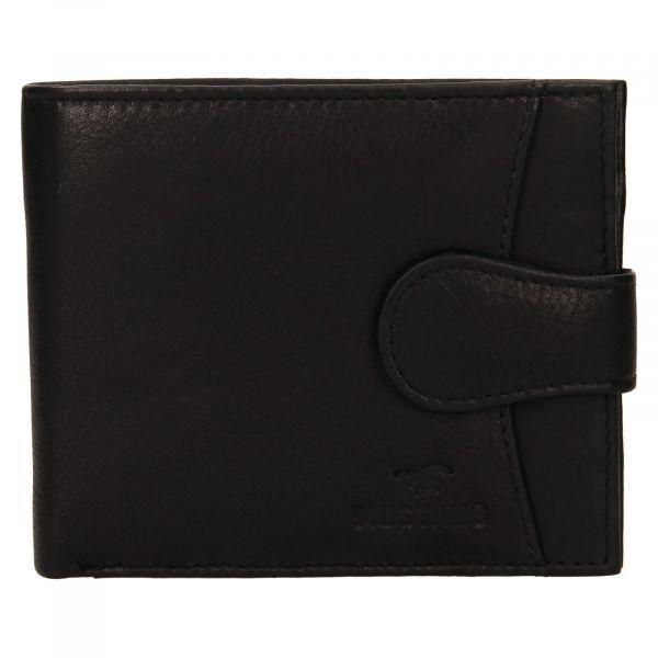 Pánská kožená peněženka Mustang Michael – černá 111629