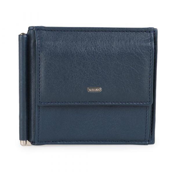 Uniko Pánská kožená peněženka Uniko Vesterbro 914398 – tmavě modrá p56911