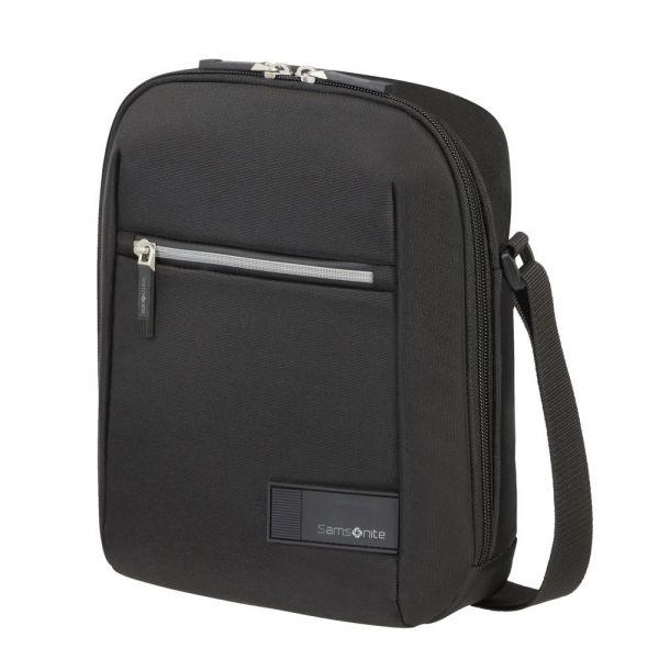 "Samsonite Pánská taška přes rameno Litepoint 9,7"" – černá p56959"
