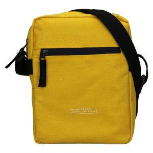 Pánská taška přes rameno Mustang Fabre – žlutá 111680
