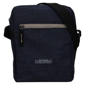 Pánská taška přes rameno Mustang Fabre – tmavě modrá 111679