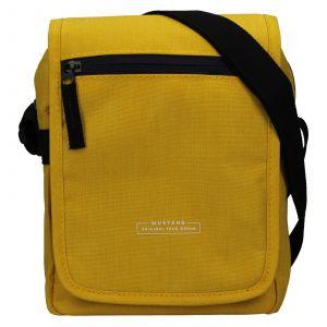 Pánská taška přes rameno Mustang Bobby – žlutá 111689