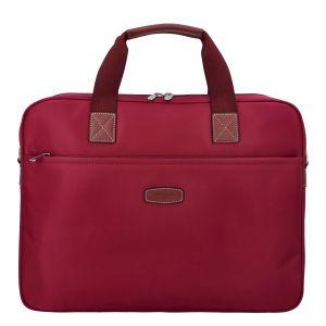 Luxusní taška na notebook tmavě červená – Hexagona 171176 červená 305291
