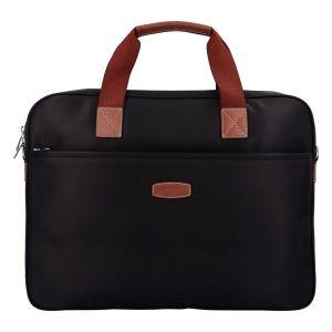 Luxusní taška na notebook černá – Hexagona 171176 černá 305301
