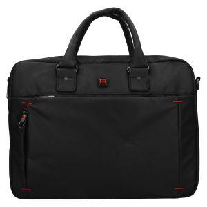 Pánská taška na notebook Enrico Benetti Porte – černá 111722