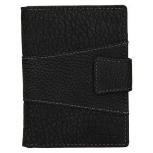 Pánská kožená peněženka Lagen Connor – černá 111749
