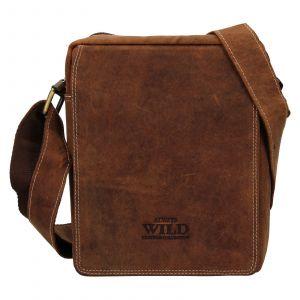 Pánská taška přes rameno Always Wild James – světle hnědá 111745