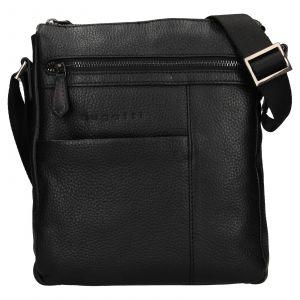 Pánská taška přes rameno Bugatti Joe – černá 111795