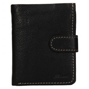 Pánská kožená peněženka Ashwood Harry – černá 111793