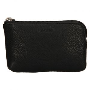 Lagen Kožená mini peněženka-klíčenka BLC/4742 Black mla0861