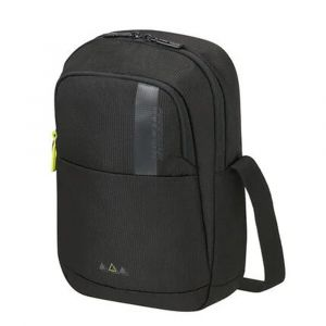 "American Tourister Pánská crossbody taška Work-E 9,7"" – černá p58828"