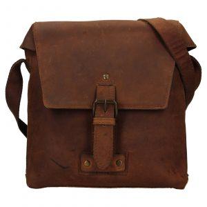 Pánská kožená taška přes rameno Ashwood Sam – světle hnědá 111842
