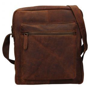 Pánská kožená taška přes rameno Ashwood Ryan – světle hnědá 111836