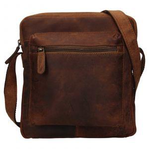Pánská kožená taška přes rameno Ashwood Patrick – světle hnědá 111832